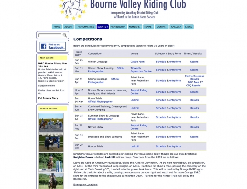 Bourne Valley Riding Club