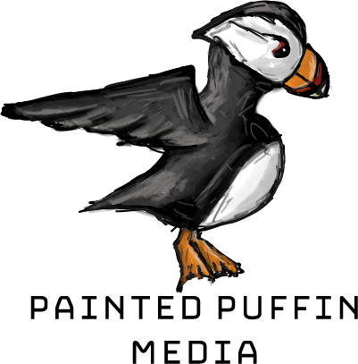 Painted Puffin Media Logo