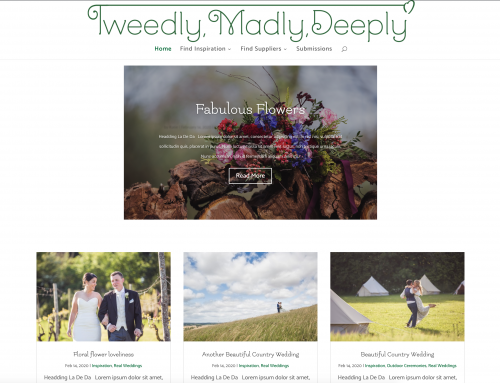 Tweedly Madly Deeply